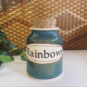 Rainbow Fund • Vintage Ceramic Jar